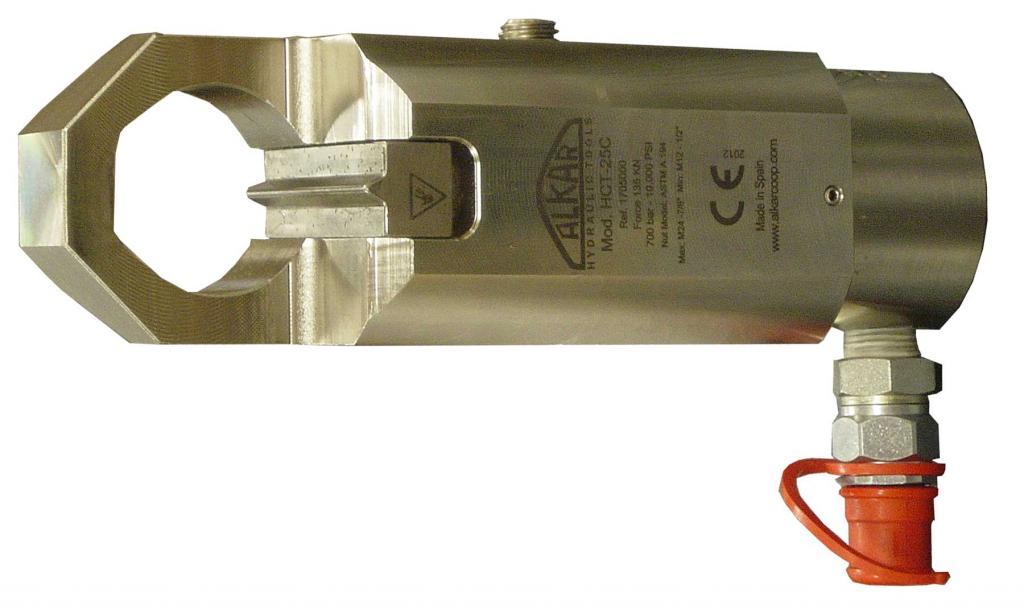 HCT-25C Intxaur moztugailu hidraulikoa